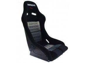 Fotel sportowy K109 BRIDE BLACK [197] 1200