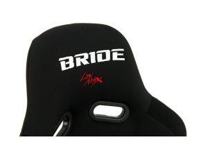 Sportovní sedačka BRIDE K109 BLACK-GREY