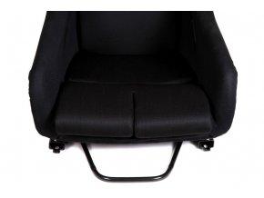 Sportovní sedačka MONZA RACE - černá