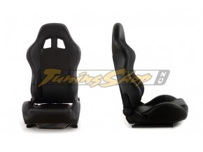 Sportovní sedačka MONZA+ černá S 4/5d