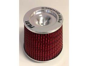 Sportovní vzduchový filtr PILOT - universál, redukce 60-101 mm AF-12