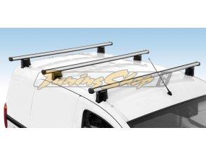 Střešní nosiče NORDRIVE Citroen Berlingo (ne roof hatch) 04/08- L1 / CARGO-Plus, alu hliník 3x 150 cm