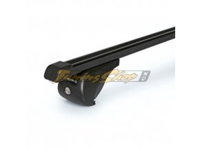 Střešní nosiče NORDRIVE RAIL-PRO příčníky, černá ocel, S - 108 cm