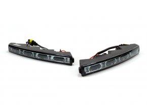 Světla pro denní svícení 523 HP MINI - 5 LED chrom NSSC