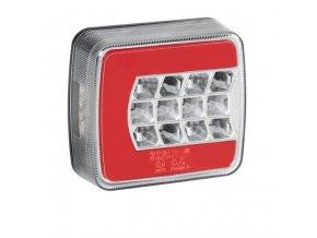 Zadní světlo na přívěsný vozík 25 LED 12/24V 4 funkce - pravé