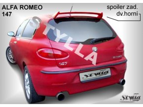 Zadní spoiler Alfa Romeo 147 3D / 5D hatchback 01 / 2001 –