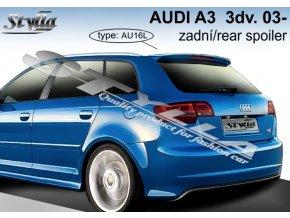 Zadní spoiler Audi A3 Sportback 5D hatchback 09./04