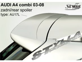 Zadní spoiler Audi A4 Avant combi 04 / 2001 –