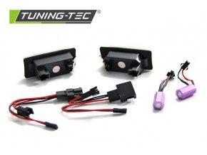 Osvětlení SPZ LED Audi Q5/A4 08-10/A5/TT/ Škoda Fabia/Yeti/Superb/VW Passat B6 combi 3xLED