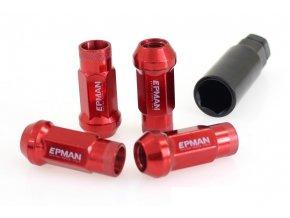 Nakretki EPMAN JDM M12x1 25 Red [32243] 1200