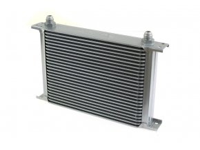 Chlodnica Oleju TurboWorks 30 rzedowa 260x235x50 AN8 silver [95559] 1200[1]