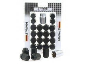 Nakretki EPMAN RS M12x1 25 Black [34691] 1200