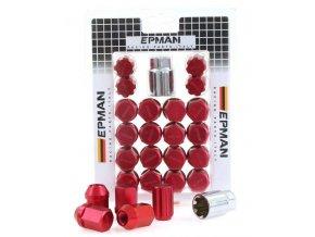 Nakretki EPMAN RS M12x1 25 Red Z [34698] 1200