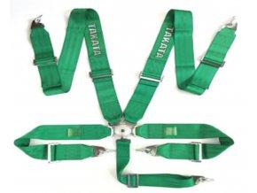 Pasy sportowe 5p 3 Green Takata Replica [97135] 1200[1]