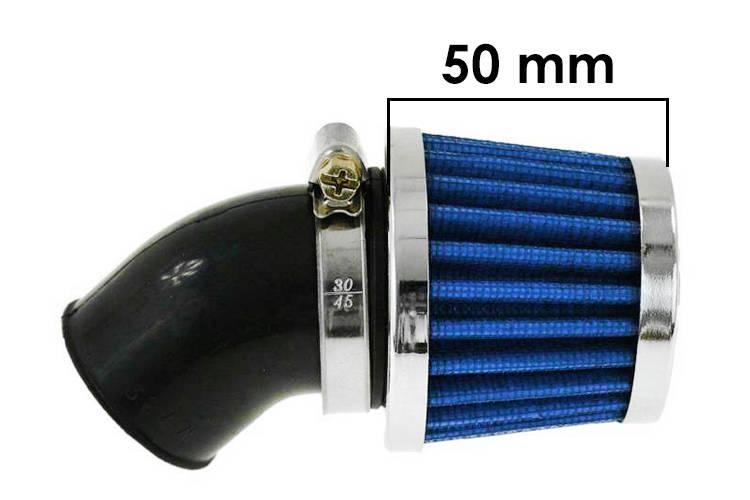 Vzduchový filtr SIMOTA 45° 38mm JS-9243-6