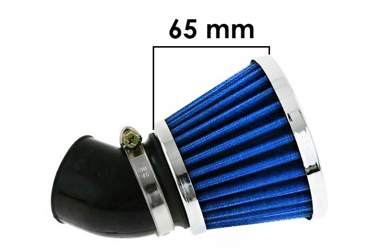 Vzduchový filtr SIMOTA 45° 42mm JS-9209-7