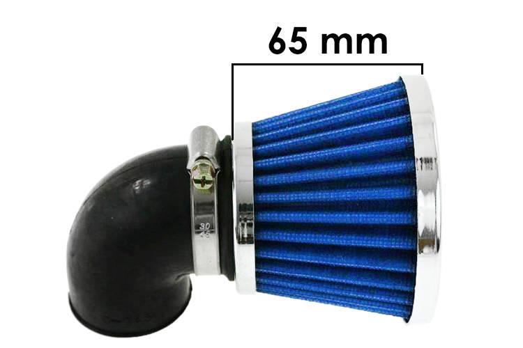 Vzduchový filtr SIMOTA 90° 38mm JS-8209-6