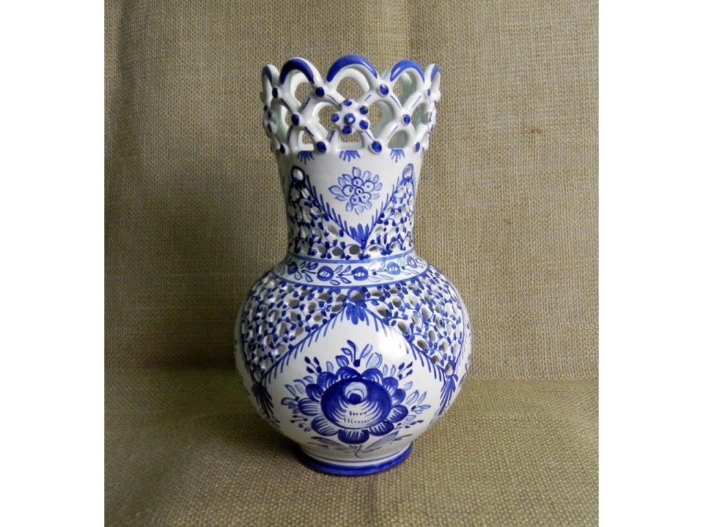 Váza řezaná 3 krajky