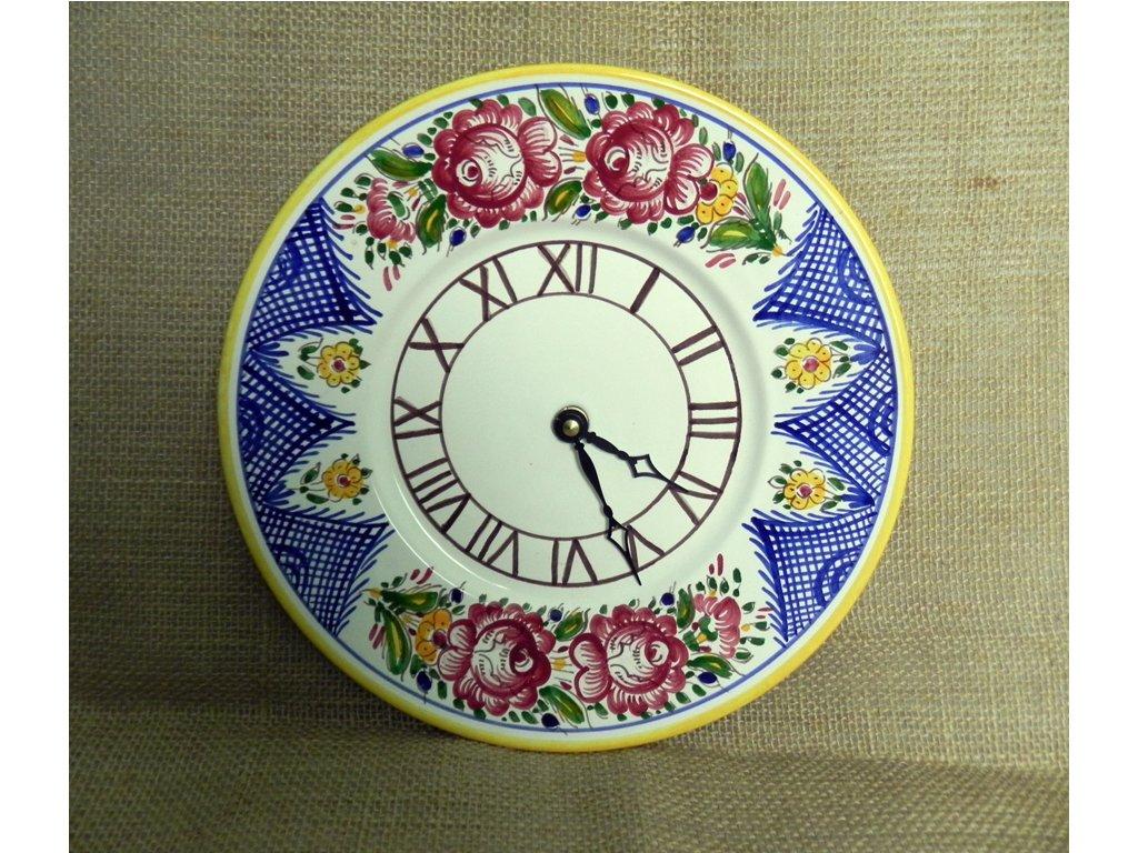Keramické nástěnné hodiny
