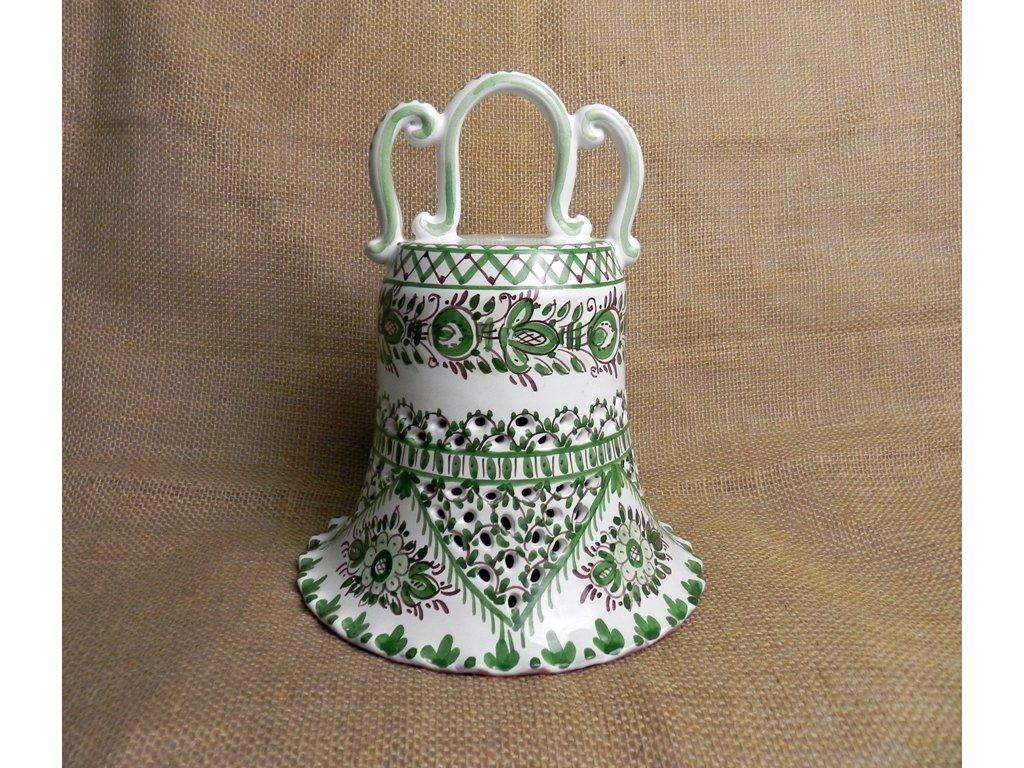 Zvon řezaný - zelený