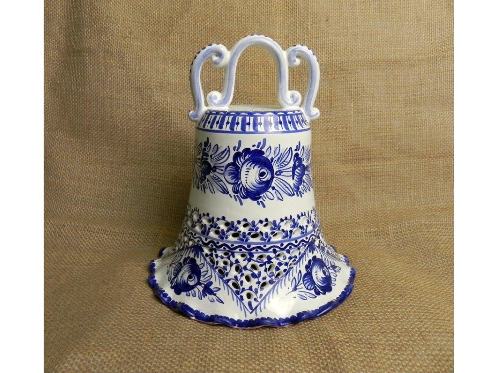 Zvon řezaný- modrů