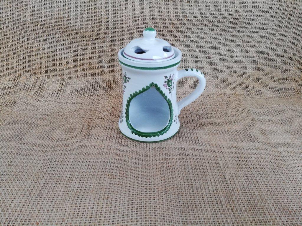 Aroma lampa - zeleno bílá