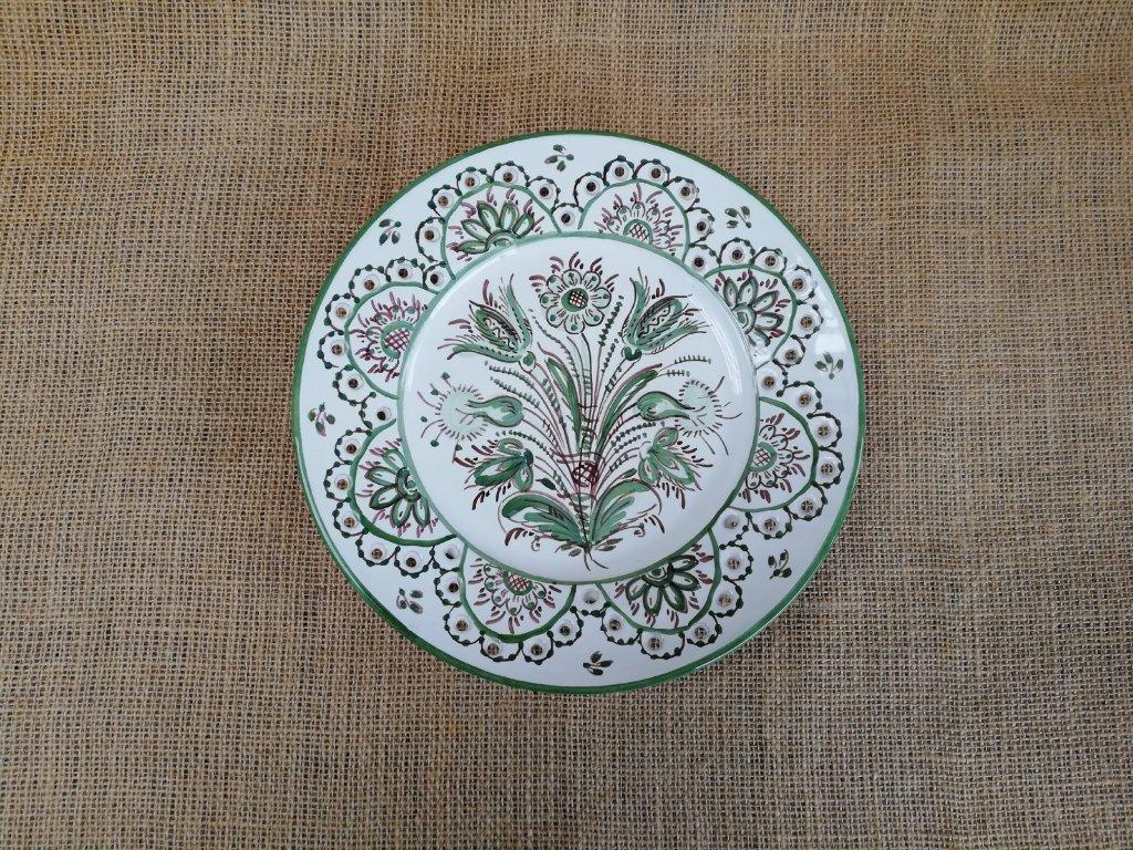 Keramický talíř dírkovaný