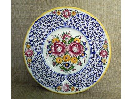 Keramický talíř - řezaný
