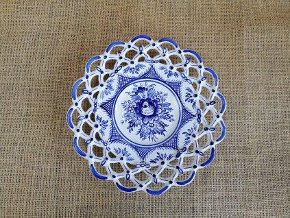Keramický talíř - 3 krajky