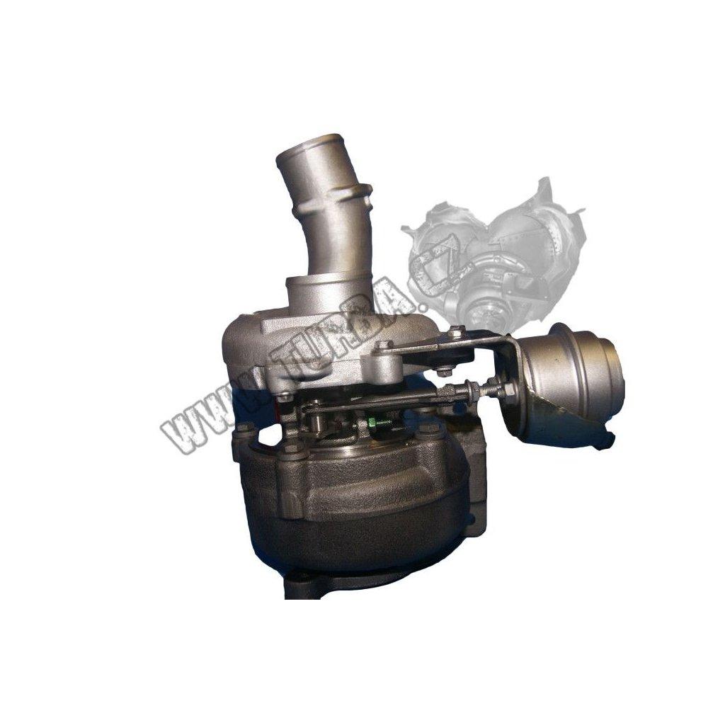 Turbodmychadlo RENAULT MEGANE 1.9 dCi 88kw - KOMPLETNÍ REPASE - 708639