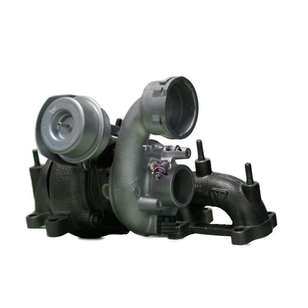 Turbodmychadlo SEAT ALTEA 1.9 TDi 77 kW - NOVÝ STŘED + VENTIL - 038253056E
