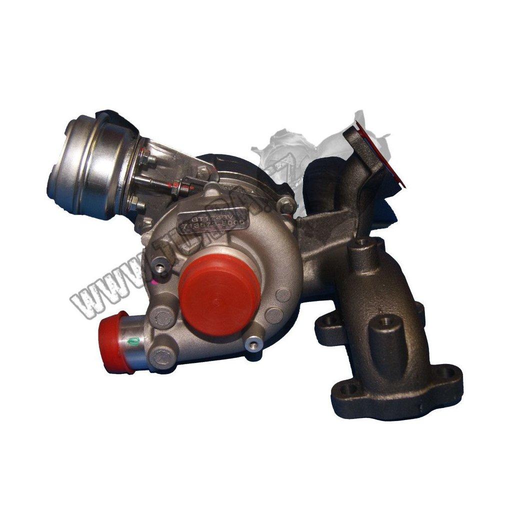 Turbodmychadlo VW GOLF IV 1.9 85 kw KOMPLETNÍ REPASE - 713673