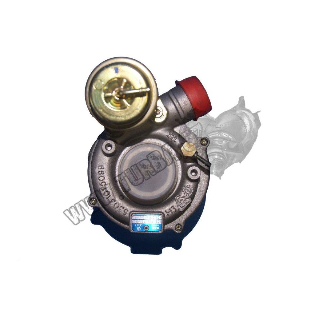 Turbodmychadlo VW GOLF IV 1.9 TDi 66kw - NOVÝ STŘED + VENTIL - 038145701A