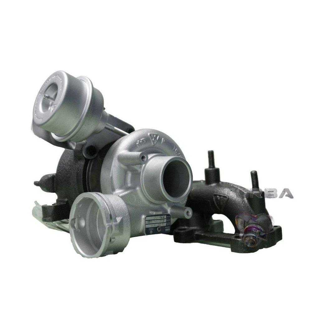 Turbodmychadlo VW GOLF IV 1.9 TDi 74 kw - NOVÝ STŘED + VENTIL - 038253016H