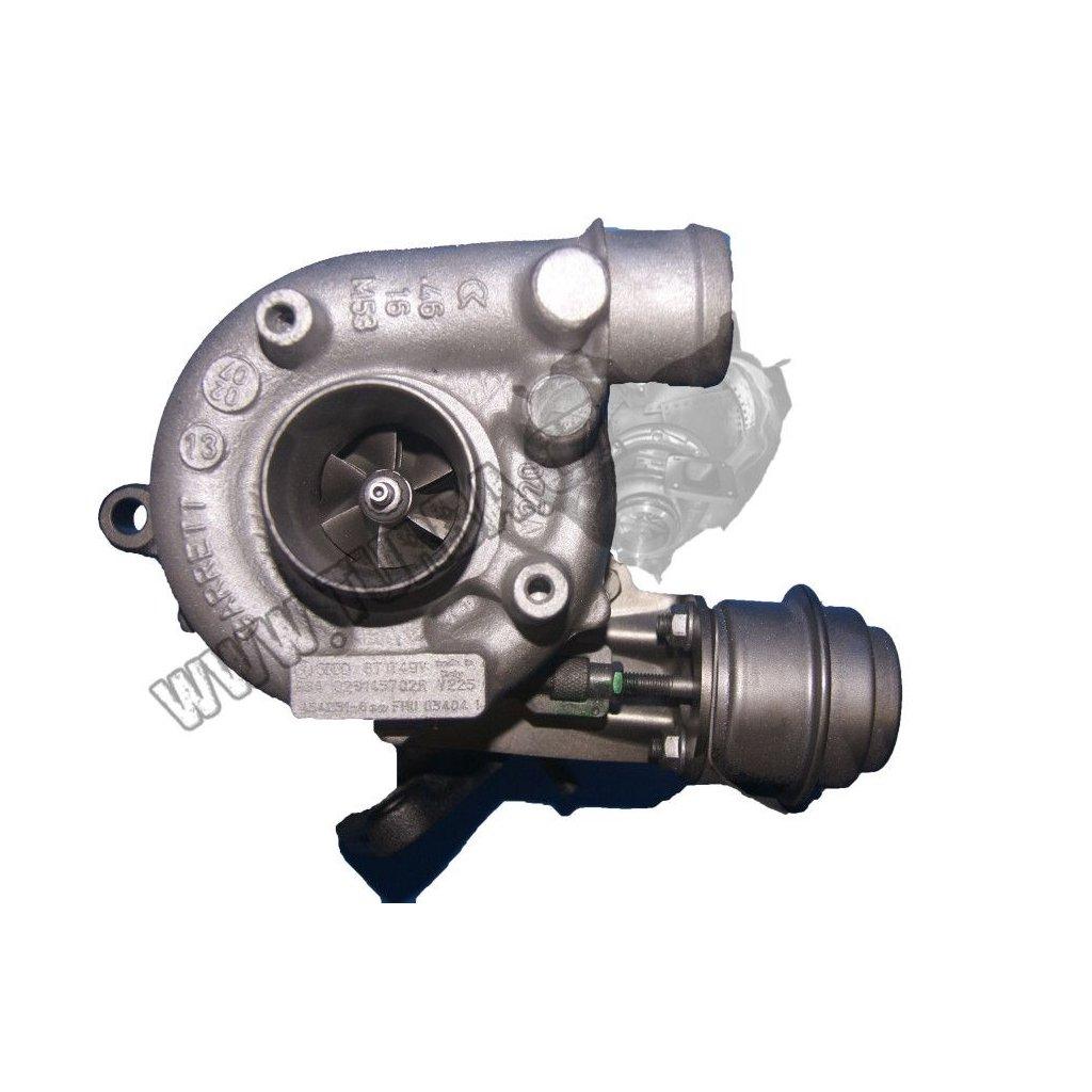 Turbodmychadlo VW PASSAT 1.9 TDi  (B4) 81 kW - NOVÝ STŘED + VENTIL - 028145702D