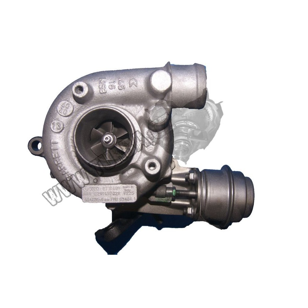 Turbodmychadlo VW POLO III 1.9 TDi 66, 81 kW - NOVÝ STŘED + VENTIL - 028145702N