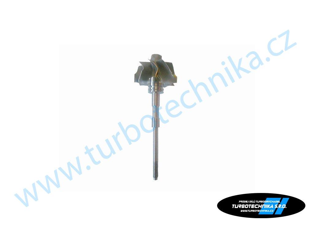 Hřídel s turbínovým kolem - Garrett - 100-00275-100  Náhradní díly prémiové kvality