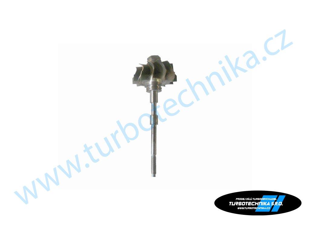 Hřídel s turbínovým kolem - KKK - 200-00343-100  Hřídel s turbínovým kolem prémiové kvality
