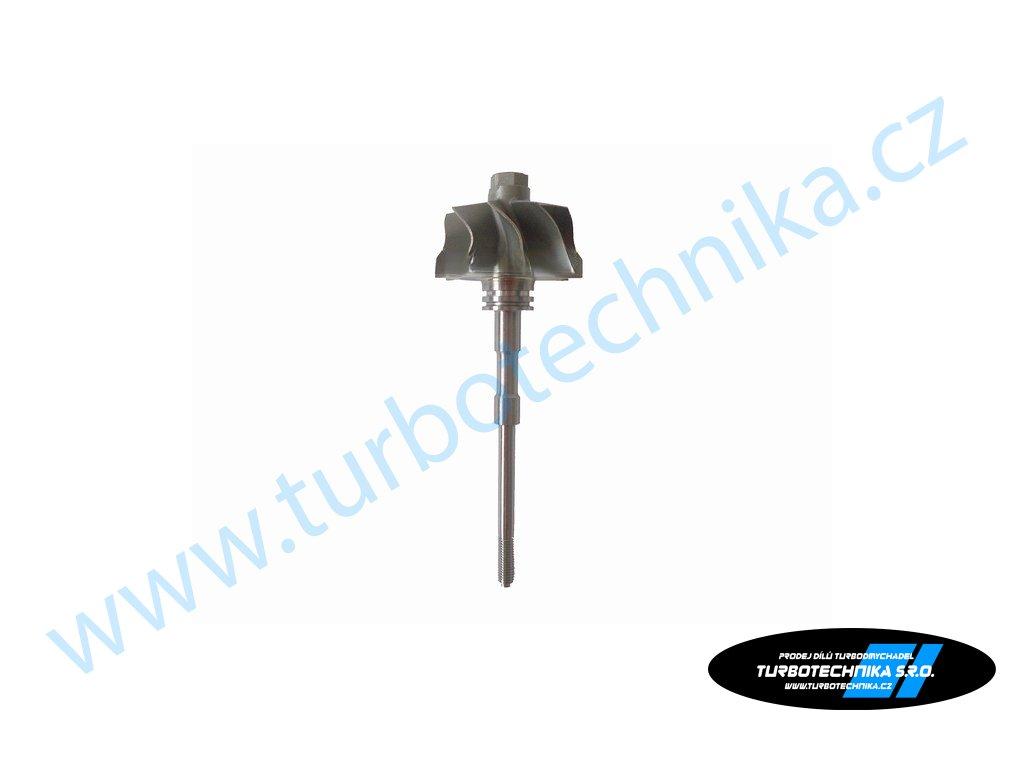 Hřídel s turbínovým kolem - Garrett - 100-00261-100  Náhradní díly prémiové kvality