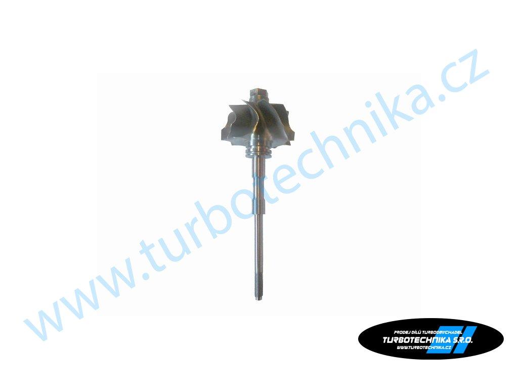 Hřídel s turbínovým kolem - Garrett - 100-00492-100  Náhradní díly prémiové kvality