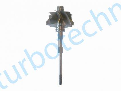 Hřídel s turbínovým kolem - Garrett - 100-00390-100  Hřídel s turbínovým kolem prémiové kvality