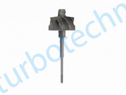 Hřídel s turbínovým kolem - KKK - 200-00476-100  Náhradní díly prémiové kvality
