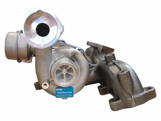Nové turbodmychadlo KKK 5439 970 0022 Kvalitní turbodmychadlo TURBOrail