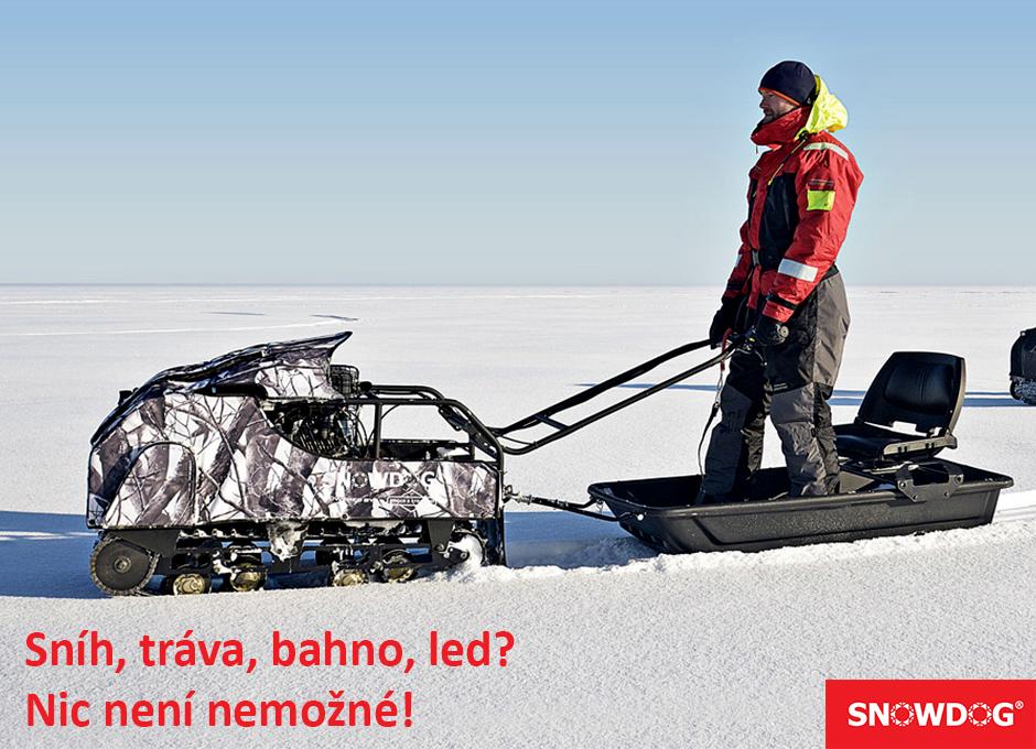 Už jste slyšeli o strojích SNOWDOG?