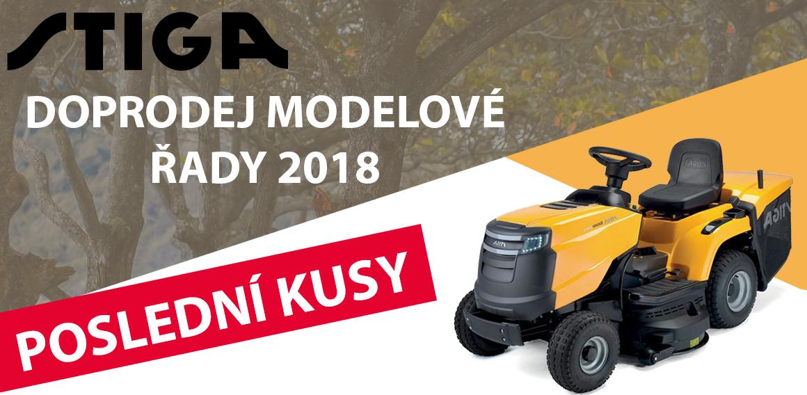 Doprodej modelové řady Stiga 2018