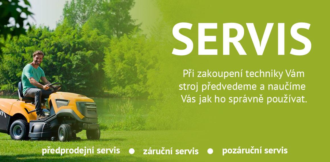 Servis zahradní techniky v Třinci!