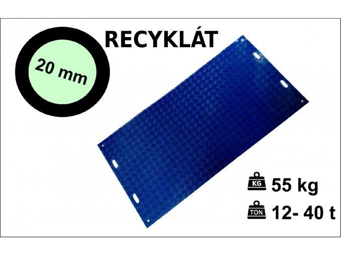 Recyklát ikona 20 mm