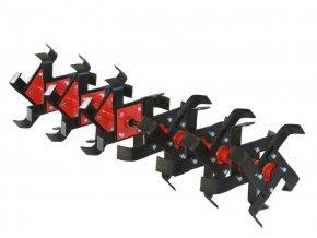 Ústrojí kypřicí AKY-358 - úhlové nože, š.115 cm