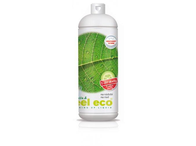 Feel Eco prostředek na nádobí s vůní okurky 1l