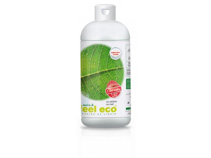 Feel Eco prostředek na nádobí s vůní maliny 500 ml